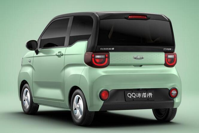 电动汽车-奇瑞iCar旗下首款车—QQ冰淇淋 疑似预售价格2.88万
