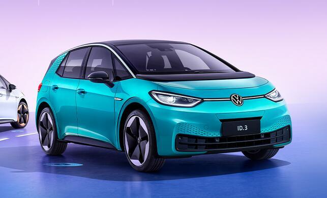 电动汽车-上汽大众ID.3将于10月28日上市 NEDC续航430km