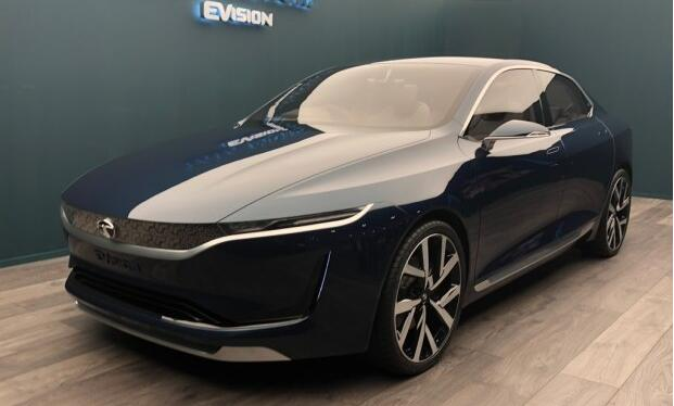 印度塔塔汽车在日内瓦车展发布了一款EVision电动概念车
