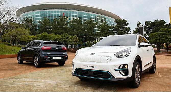 起亚极睿EV在韩国第5届国际电动车博览会发布 最大续航380KM