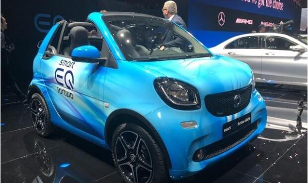 戴姆勒或与北汽新能源组建合资公司 生产smart电动汽车