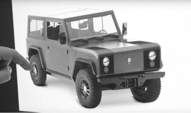 美国初创电动车企业博林格旗下全地形纯电动大型SUV明年量产