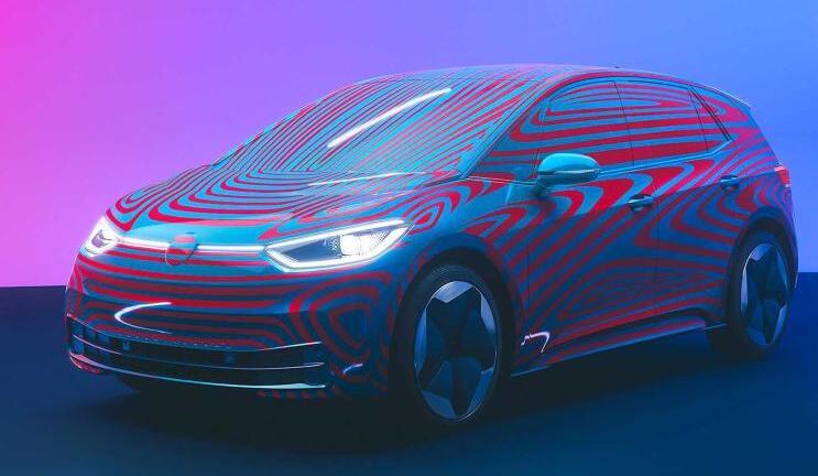 大众全新纯电动车-大众ID.3预告图发布 最高续航550公里