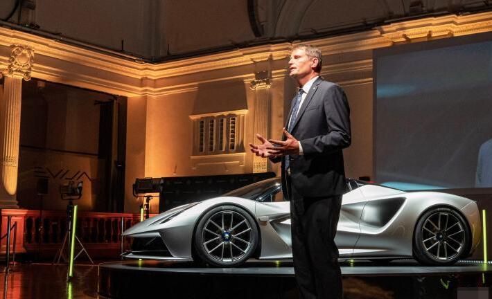 路特斯电动超级跑车Evija全球限量130台 起售价1467万元