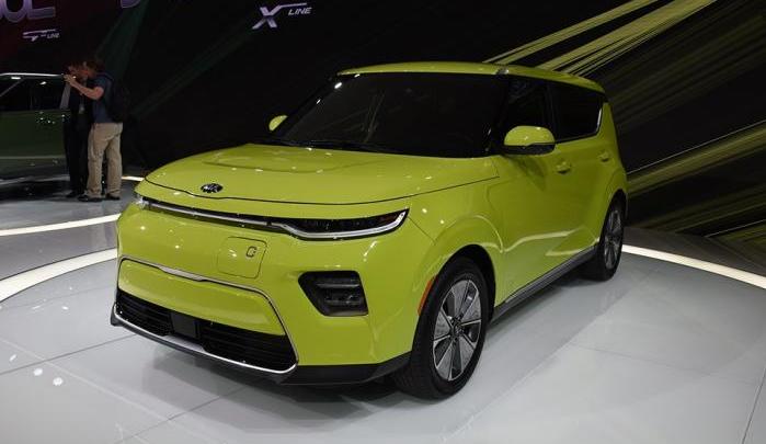 起亚全新电动车秀尔Soul EV将2019上海进博会 续航475km