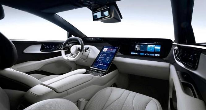 Faraday Future旗下首款量产车FF91内饰图发布 续航700公里