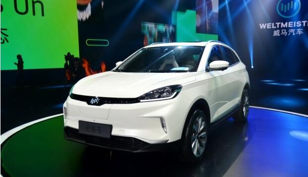 威马EX5试装车将3月28日在温州工厂下线 最大续航600KM
