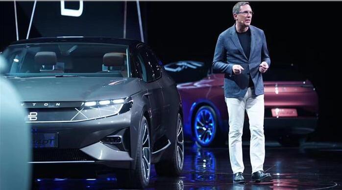 拜腾总裁兼联合创始人戴雷博士发布南京工厂试制车间照