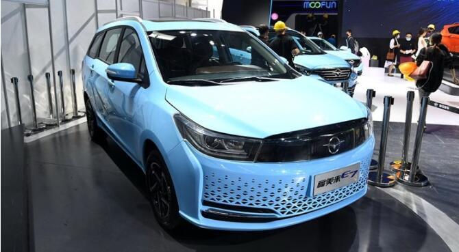 海马电动汽车:海马E3即将推出 海马E7下半年上市|续航355公里