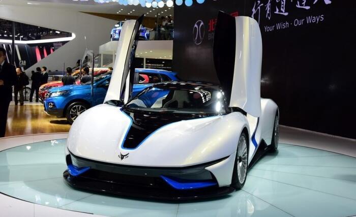 北汽新能源旗下首款纯电动超跑ARCFOX-7第二代9月3日首发