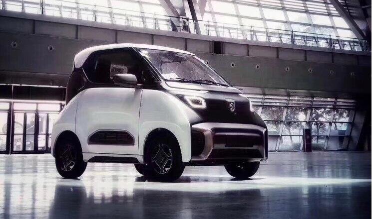 宝骏旗下全新纯电动车型-宝骏E200官图发布 采用两座布局