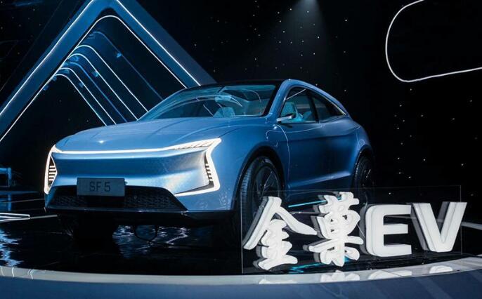 SF MOTORS发布中文名称-金菓EV 首款车SF5亮相 2019年上市