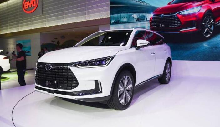 唐EV600车型亮相2018广州国际车展 综合工况续航超500公里