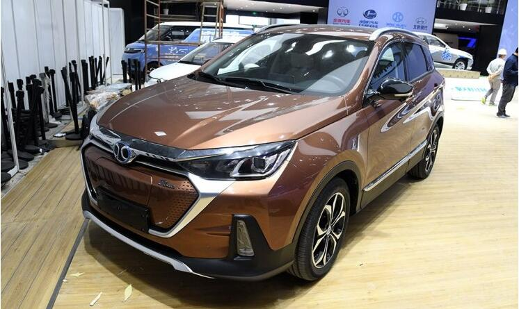 北汽新能源EX5将于2019年1月上市 定位纯电动紧凑型SUV
