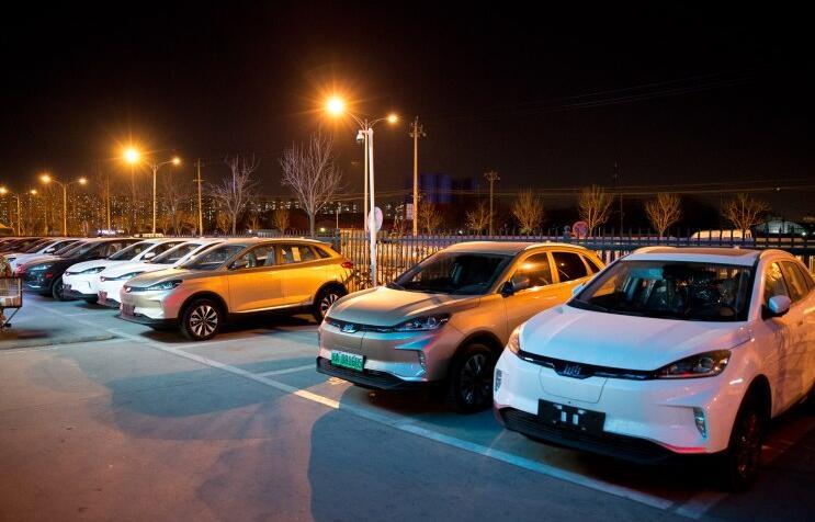 北京威马汽车4S店暨五方天雅汽车园用户中心开业 交付威马EX5