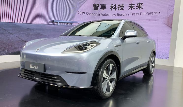 博郡iV6亮相2019上海车展 补贴前预售价25-35万|续航610km