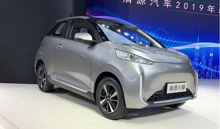 清源汽车旗下微型电动清源小尊亮相2019上海车展 续航400km