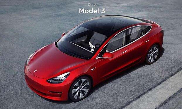 国产特斯拉Model 3预订啦 32.8万起售|续航460km