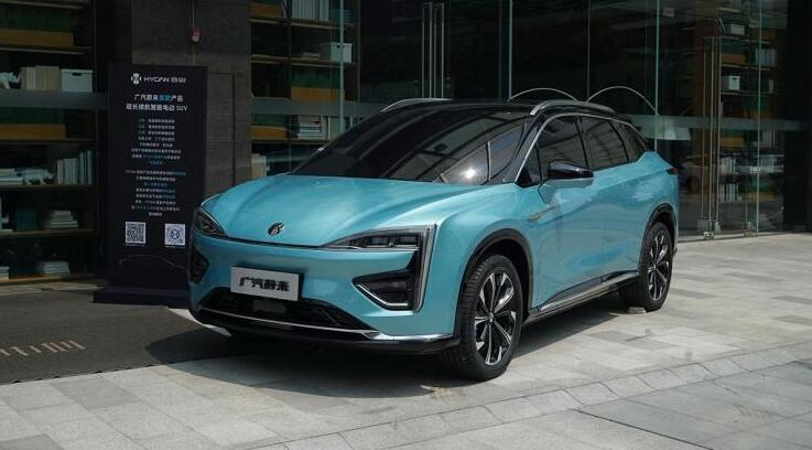 广汽蔚来合创品牌旗下首款SUV车型内饰设计图曝光 将年底发布