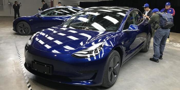 国产版特斯拉Model3实车亮相 起售价35.58万|续航460-595km