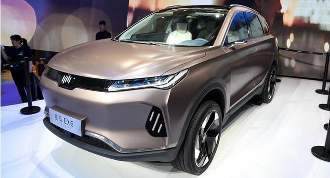 威马EX6 Plus量产版将在2019广州车展发布 续航里程500KM