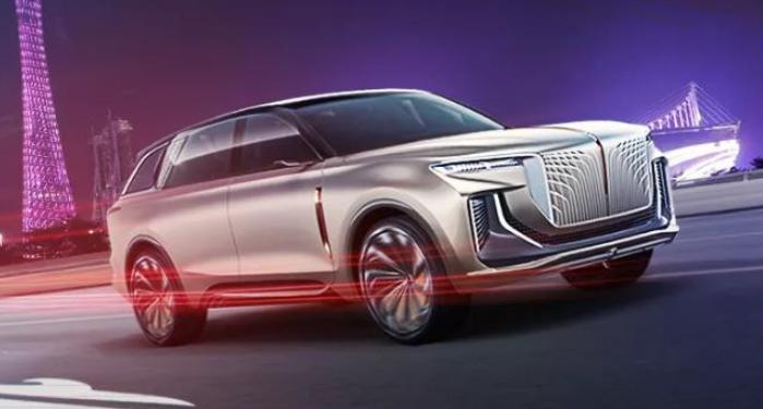 红旗全尺寸旗舰电动SUV概念车将亮相2019广州国际车展