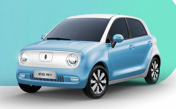 欧拉R1新车型上市  续航301KM   补贴后售价为6.98万元