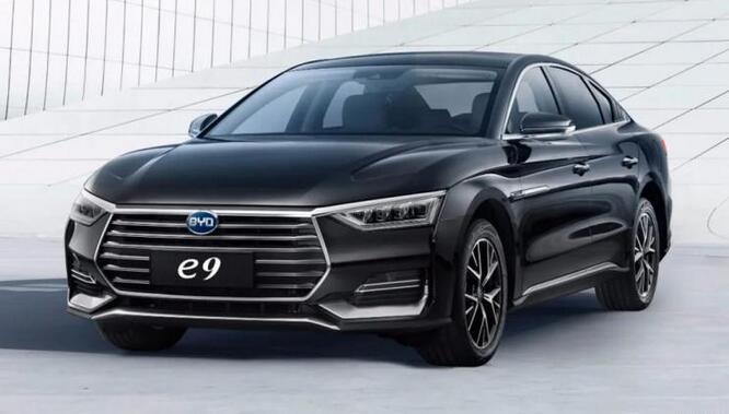 比亚迪中大型电动汽车e9上市 补贴后售价22.98万|续航506公里