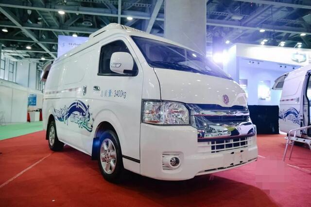 电动物流车-陕西通家电牛3号亮相 满载续航200公里