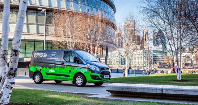 160辆福特电动物流车在伦敦用新算法收集数据 建电动车充电桩