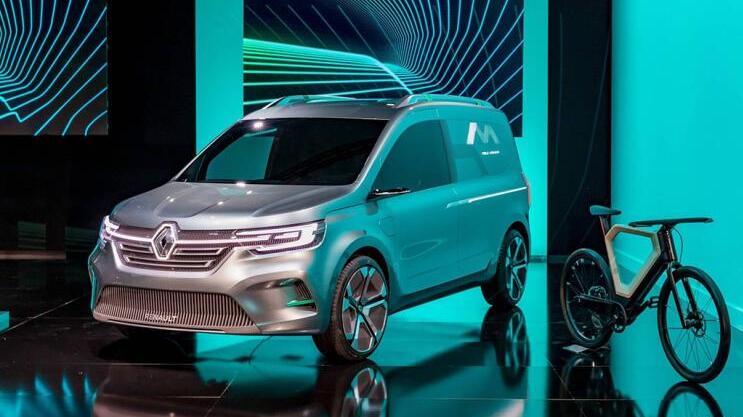 雷诺电动物流车Kangoo ZE Concept概念车型发布