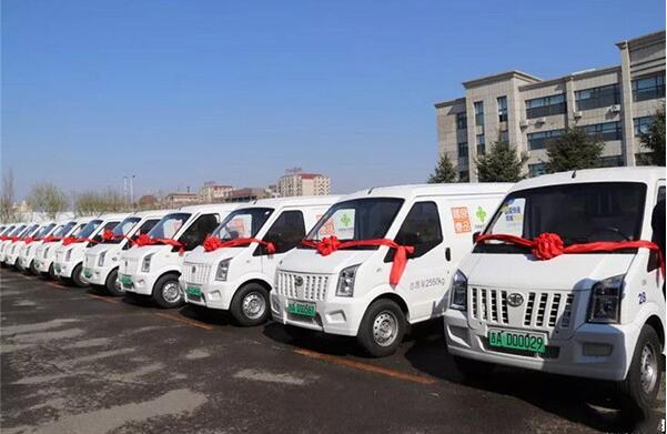 100辆一汽解放电动物流车签约吉林省供销集团