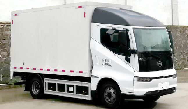比亚迪电动物流车BYD5041XXYBEV第319批新车公示