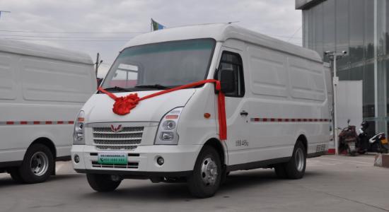 五菱纯电动物流车-五菱S100上市 续驶里程330km|装载13.3m³