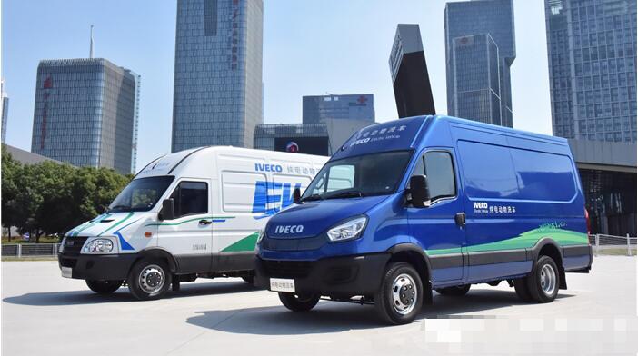南京依维柯电动物流车再与顺丰速运签署战略合作协议