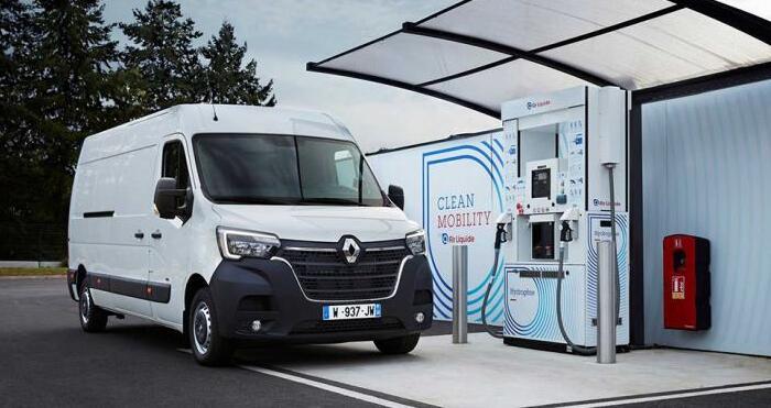 雷诺氢燃料电池电动物流车将上市  WLTP最大续航370公里