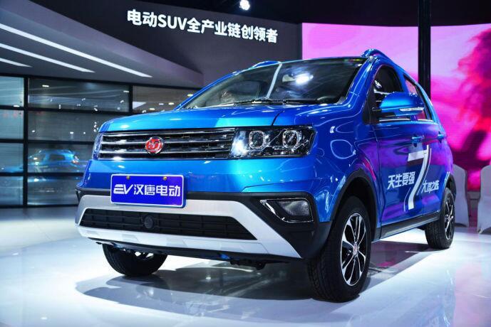 汉唐携旗下电动SUV超电轿亮相2019山东国际新能源汽车展览会