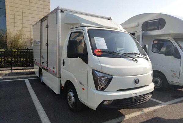 飞碟汽车旗下电动物流车缔途EX明年4月试销 最大续航220KM