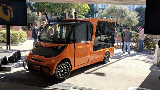 美国初创公司Udelv在加州进行了自动驾驶卡车的首次公路测试