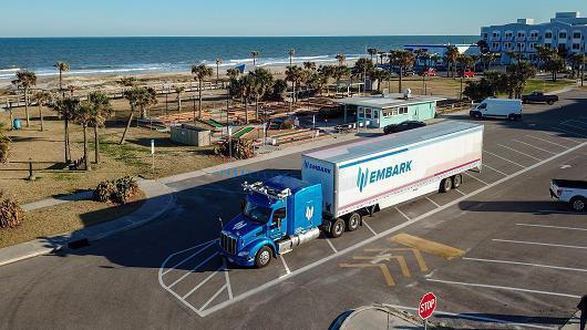 旧金山创业公司Embark自动驾驶卡车成功完成横跨东西海岸测试