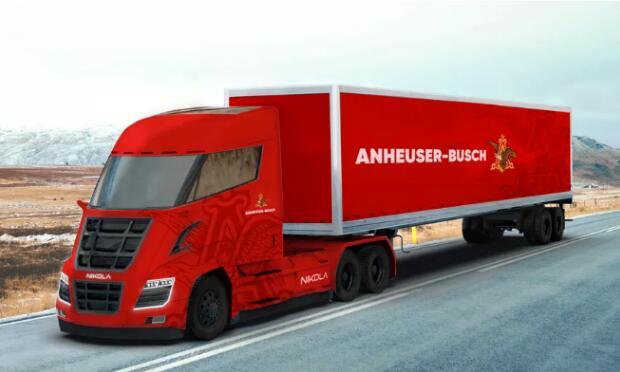 尼古拉氢燃料电池卡车2020年量产 800辆已被订购