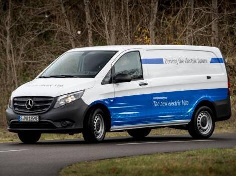 亚马逊订购100辆奔驰eVito电动货车