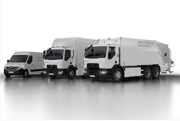 雷诺三款纯电动卡车将亮相2018汉诺威商用车展