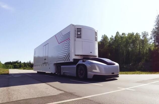 沃尔沃推出Vera自动驾驶电动卡车