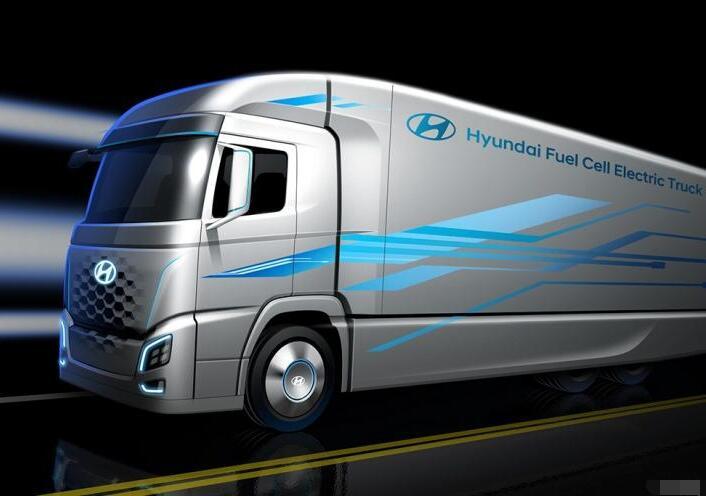 现代汽车氢燃料电池概念卡车将亮相2018德国汉诺威IAA商用车展