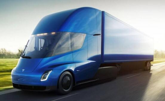 特斯拉电动半挂卡车Semi将2020年交付 续航482KM-804KM