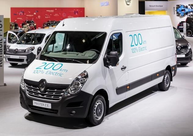 华晨雷诺旗下三款电动商用车将投放国内 轻型商用电动车是主力