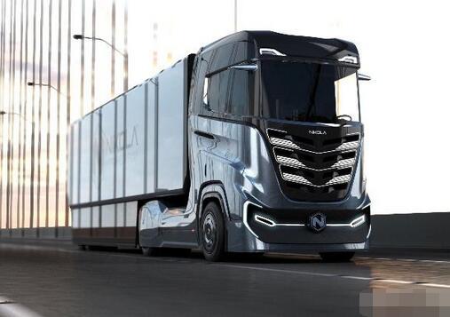 尼古拉电动卡车公司新推出氢燃料电池半挂卡车  续航1200KM