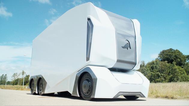 瑞典全电动自动驾驶卡车即将上路运营 载重20吨|续航198公里