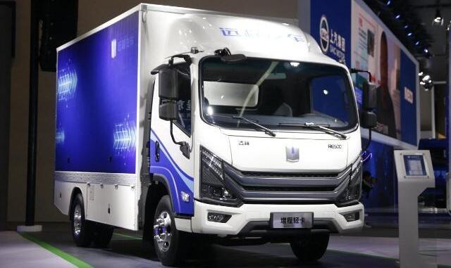 远程汽车首款增程式电动轻卡RE500发布 最大续航里程500公里
